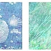 Sea Life Quartet Art Print