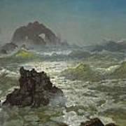 Seal Rock California Art Print