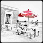 Seaside Sketch Art Print