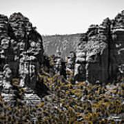 Sedona Rock Formations Art Print