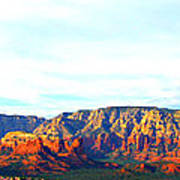 Sedona Sunset Art Print