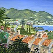 Serene Coast Art Print