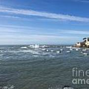 Sestri Levante With The Sea Art Print