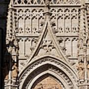 Seville Cathedral Ornamentation Art Print
