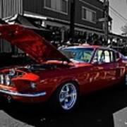 Shelby Gt 500 Mustang Art Print