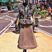 Sidewalk Catwalk 12 Art Print