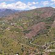 Sierra De Almijara Hills Art Print