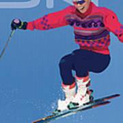 Ski 3 Art Print