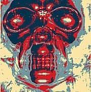 Skull In Hope Art Print