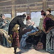 Smallpox Vaccination, 1885 Art Print