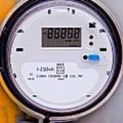 Smart Grid Residential Digital Power Supply Meter Art Print