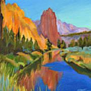 Smith Rock Canyon Art Print