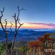 Smoky Mountains Art Print