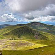 Snowdonia Panorama Print by Jane Rix