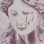 Sorrow - Triptych Panel 1 Art Print
