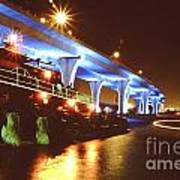 South Beach Bridge Art Print