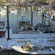 South Bristol And Fishing Boats On The Coast Of Maine Art Print by Keith Webber Jr