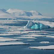South Of The Antarctic Circle Art Print