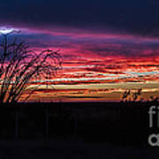 Southwest Sunset Art Print