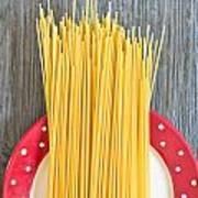 Spaghetti  Art Print by Tom Gowanlock