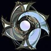 Spinners 7 Art Print