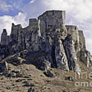 Spissky Hrad Castle Art Print