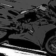 Sportbike Racer Art Print