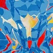 Squat Art Print by Diane Fine
