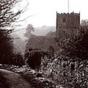 St Andrew's Church Clevedon Art Print