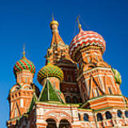 St. Basil's Cathedral - Square Art Print