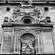 St Jeronimo Door Granada Cathedral Art Print