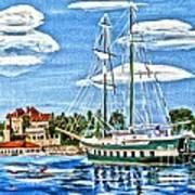 St Lawrence Waterway 1000 Islands Art Print