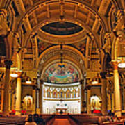 St. Leonard's Church....boston Art Print