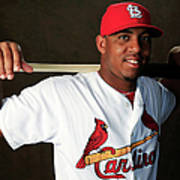 St. Louis Cardinals Photo Day Art Print