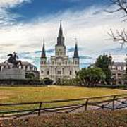St. Louis Cathedral IIi Art Print
