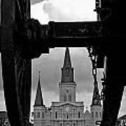 St. Louis Cathedral Vii Art Print