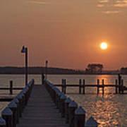 St Marys County Maryland Sunrise Art Print