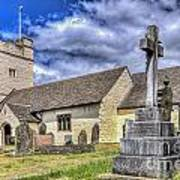 St Sannans Church Bedwellty 2 Art Print