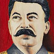 Stalin Art Print