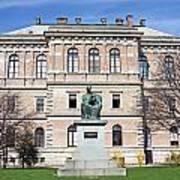 Statue Of Bishop Strossmayer Art Print