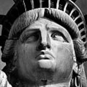 Statue Of Liberty Print by Retro Images Archive