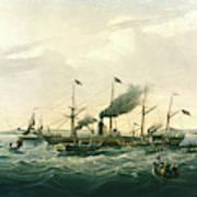 Steamship Art Print