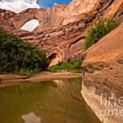Stevens Arch - Escalante River - Utah Art Print
