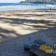 Storm Drainage Pipe On Manly Beach Art Print