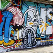Street Art Valparaiso Chile 15 Art Print