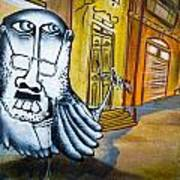 Street Art Valparaiso Print by Tyler Lucas