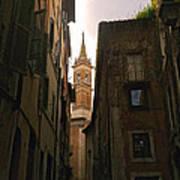 Street Of Rome Art Print