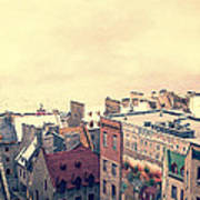 Streets Of Old Quebec City Art Print