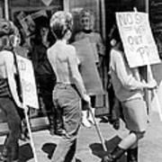 Strippers On Strike Art Print
