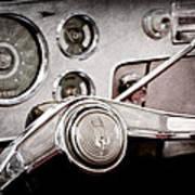 Studebaker Steering Wheel Emblem Art Print